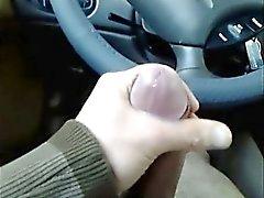 Suuri leikkaus Cock In Car