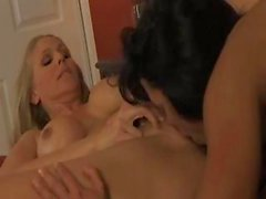 Lisa Ann and Julia Ann are two hot lesbian babes eating pussy