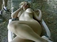 Randi Storm - Outdoor Threesome anal and facials