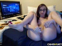 Gamer Nerd Pussy on Webcam