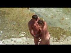 Stranden pinsamma erektionen