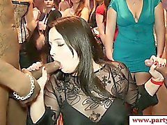 Real party euro amateur enjoys gloryhole
