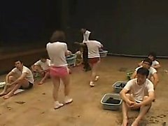 College sex party with group sex and blowjobs