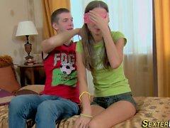German teen gets creamed