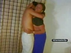 Andhra Pushpa Aunty sex