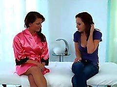 lesbische massage
