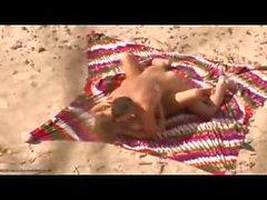 Fucking Hard On The Beach