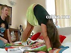 Babysitters eccitati profonde anale cazzo