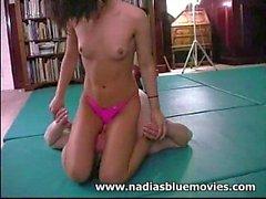 Andrea 'Nadia' Spinks Facesitting