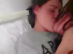 Lesbians making out