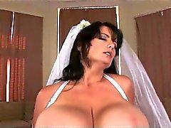Big wedding boobs - Bigger