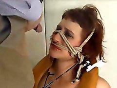 Extremen BDSM Suihkukaappi huora nai anally hard