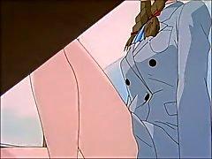 Anime GTO foot worship scenes