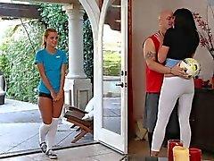Par som söker Tonåringar Alia Janine och Jessie Rogers