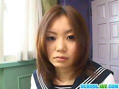 Vasca Yamasaki Honoka mostra fuori figa peloso