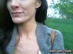 Kinky Slut Masturbating And Driving