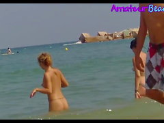 Big Boobs Amateurs Beach Voyeur Video