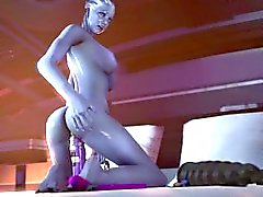Giantess Liara's Toys