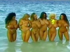 Angelique - On Location com meninas de Boobsville