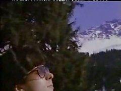 Olinka Hardiman licked outdoor in winter