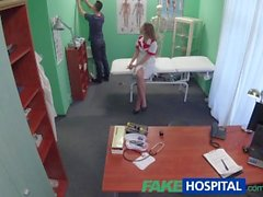 FakeHospital Technician paid with blowjob