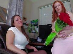 Sekreterler, Sevgililer Günü Leydi Fyre & Mallory Sierra