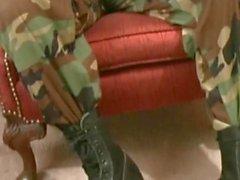 Marine делает все - BJ , Задница Воспроизвести , Jacked