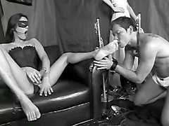 Foot Worshipping Transsexuals - Scene 1