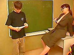 Granny Lehrer Nr. Jugendlich Junge