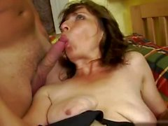 Mature fucked by young cock