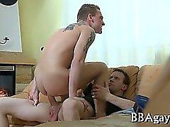 Wicked Homosexuell Sex mit heißer große Stücke