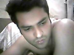 Pakistanin iso kalu kiimainen kaveri alasti webbikamera