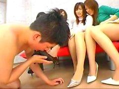 Japanilaisten jalka fetish