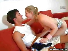 Sunny Lane - Baseball And Blowjob