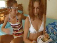 polish chicks Vika and Natasha