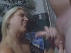Hamster member fucks my wife and cums on her face