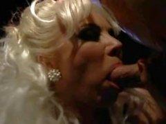 Stunning Hot Blonde takes Cumshots Hard Dp, Helen Duval, Kinky Outdoor