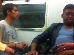 suck and masturbating in metro