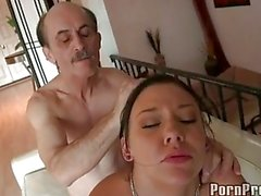 Tight brunette Ivy Winters gets real fucked hard in her ass she really enjoys it