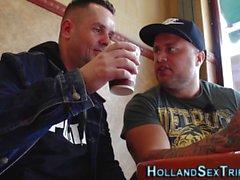 Jizz fuktade nederländska höra