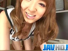 Hikaru Shiina gets busy with her puffy Asian cunt