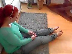 Redhead BBW anal