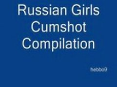 Russian girls cumpilation