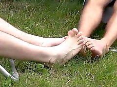Le millet glisse et de balades Tristans pénis entre debout lisses