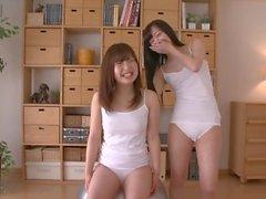 2 filles rasées japonais propagation chatte, g-reine, Tranquillo # 1