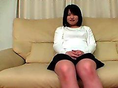 Chubby japansk flicka
