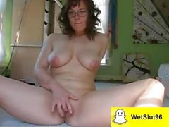 Cute stepmom tries for the first time