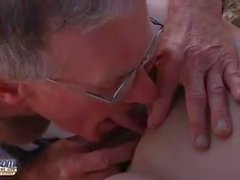 Abigaile Johnson - sex with old man
