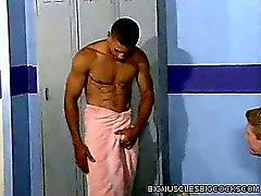 Locker Room мышцы человек Черт