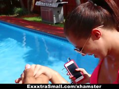 ExxtraSmall - Bubbly Little Spinner Gets Fucked By Coach